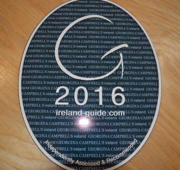 Georgina Campbell 2016 plaque